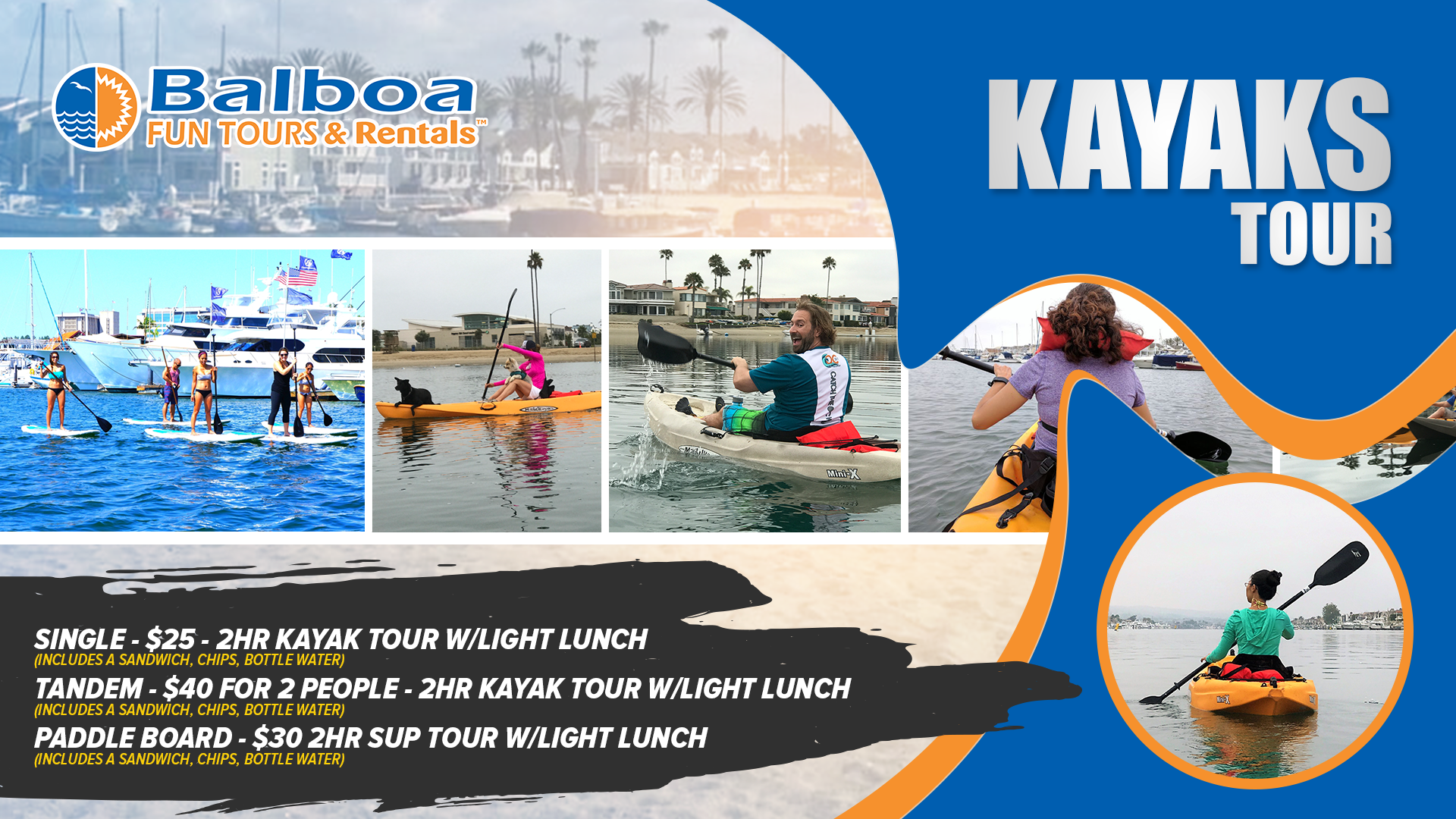Balboa Kayak Tours