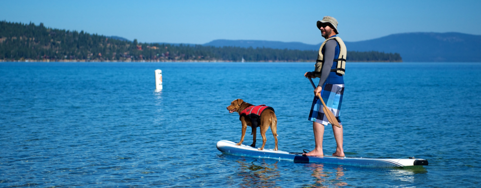 Stand-up Paddleboardbyg with Balboa Fun Tours